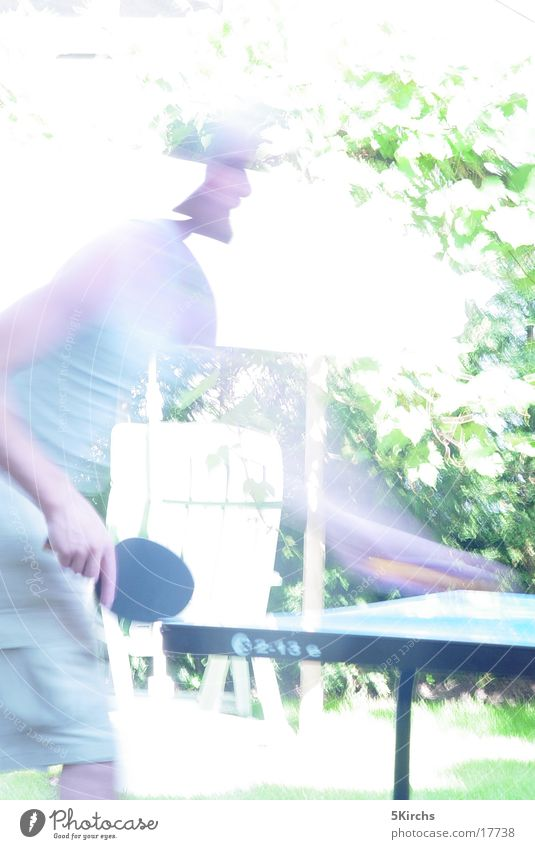 table tennis Table tennis Human being Summer Blur Sports Movement