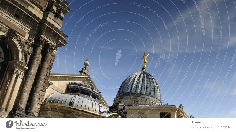 Old Architecture Art Church Culture Dresden Historic Tourist Attraction Tilt Capital city Old town
