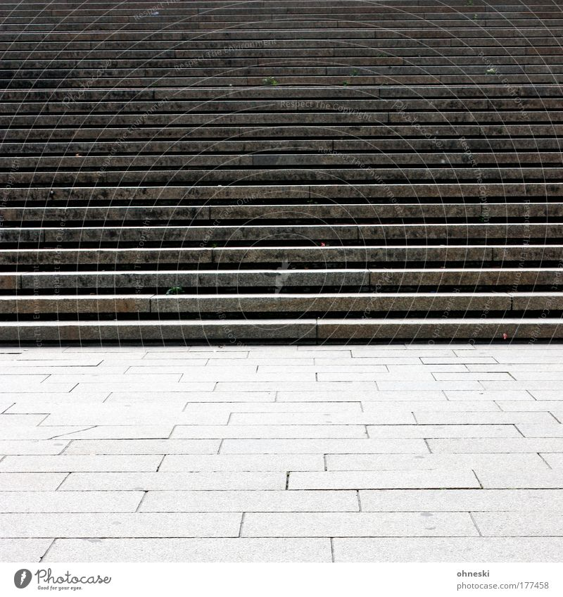 City Loneliness Gray Stone Sadness Concrete Stairs Places Gloomy Frustration Exhaustion Sharp-edged Disappointment Fiasco Reluctance