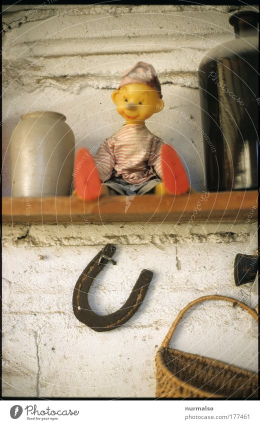 """""""Wooden"""" head Made in GDR Colour photo Kindergarten Masculine Ear Nose 1 Human being Art Puppet theater Youth culture Accessory Footwear woodworm Horseshoe"""