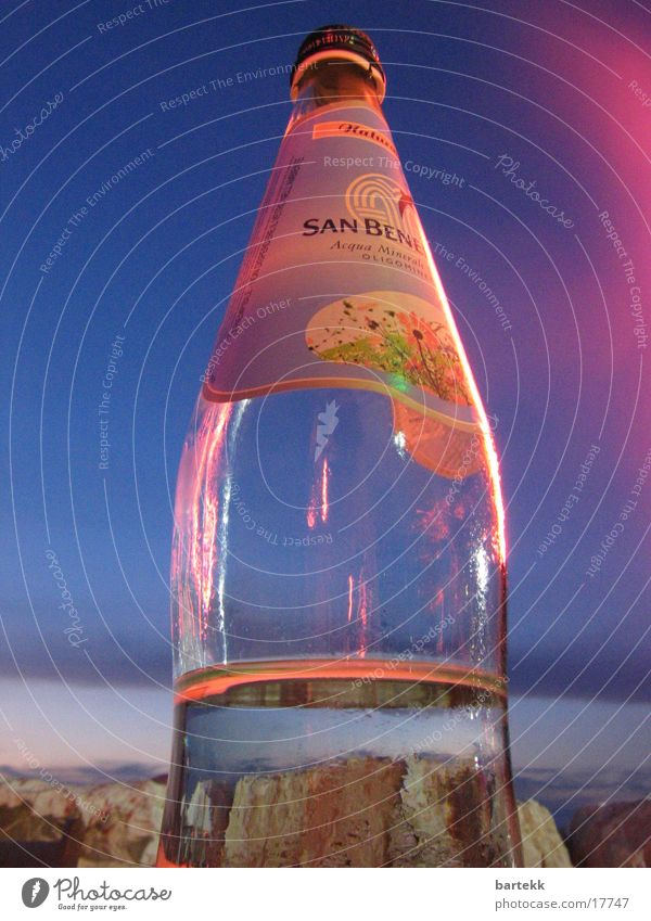 Water Sky Ocean Italy Things Bottle