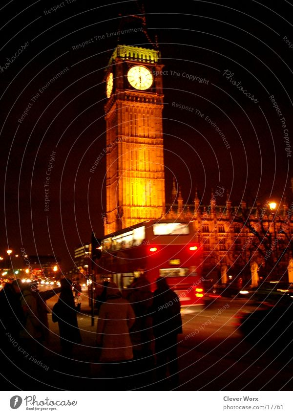 Vacation & Travel Architecture London Night life Big Ben