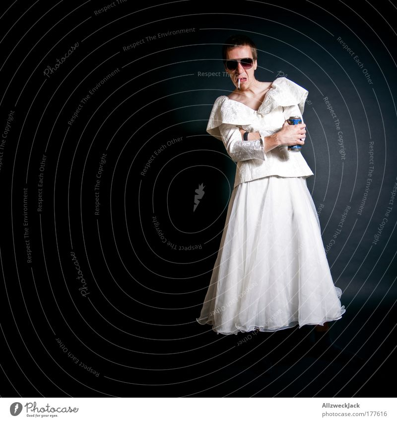 Human being Youth (Young adults) White Black Adults Feminine Funny Young man Fashion 18 - 30 years Wait Masculine Esthetic Clothing Dress Smoking
