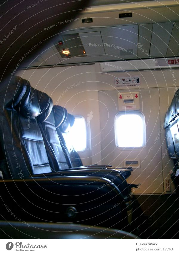 space offer Airplane Empty Window Aviation class free space