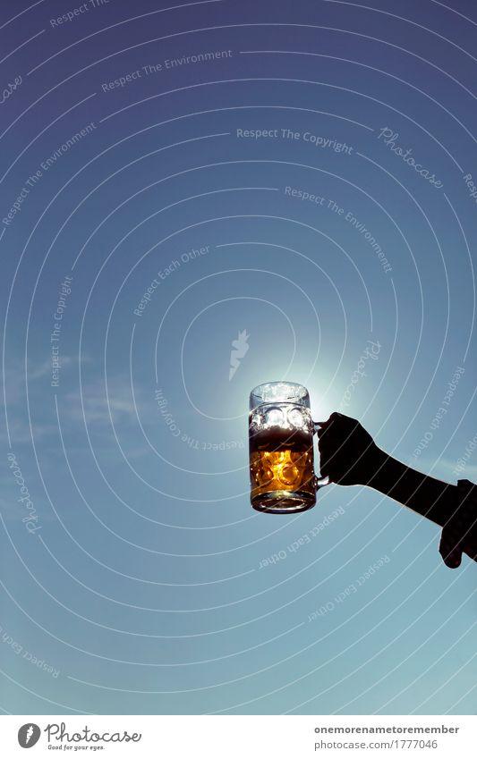 Oktoberfest - Sun measure Art Work of art Esthetic Beer Beer garden Beer glass Froth Beer mug Alcoholic drinks Alcohol-fueled Alcoholism Toast