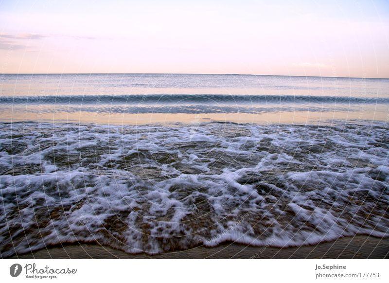 Sky Nature Water Summer Ocean Beach Calm Environment Coast Horizon Waves Wet Idyll Elements Baltic Sea