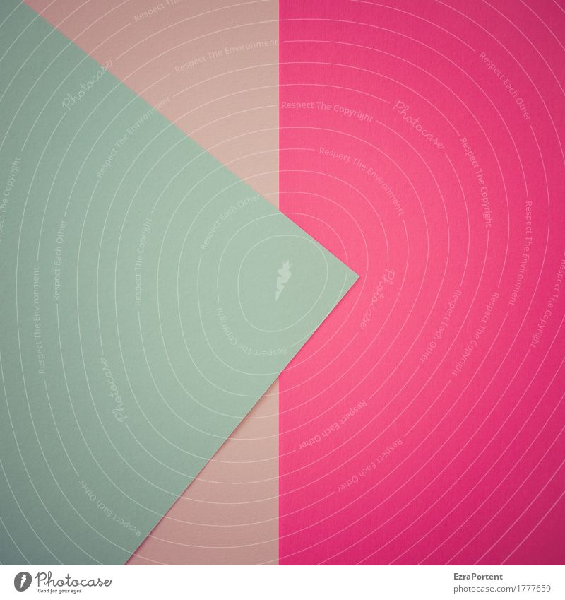 B>ppP Style Design Decoration Paper Sign Signs and labeling Esthetic Bright Blue Pink Turquoise Colour Advertising Background picture Subsoil Line Diagonal