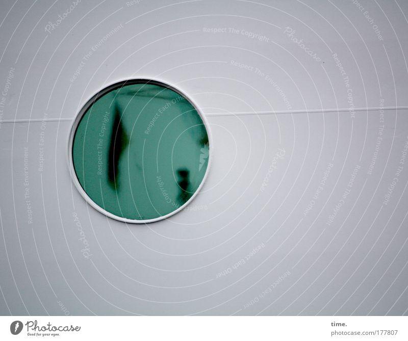 Green Window Watercraft Round Flag Navigation Porthole Welding seam