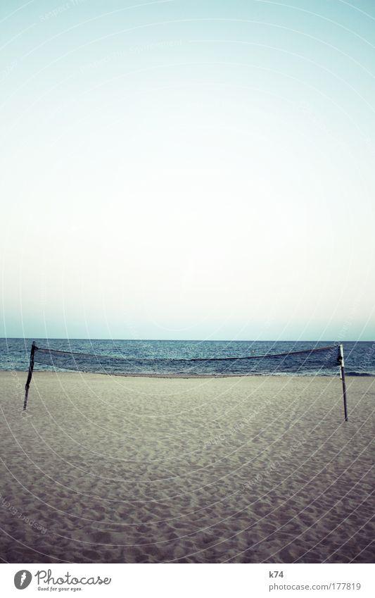 ocata Net Beach Volleyball (sport) Sports Ocean Lake Sand Horizon Deserted Landscape