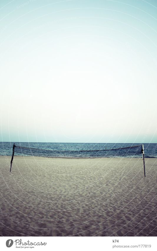 Ocean Beach Sports Lake Sand Landscape Horizon Net Volleyball (sport) Ball sports
