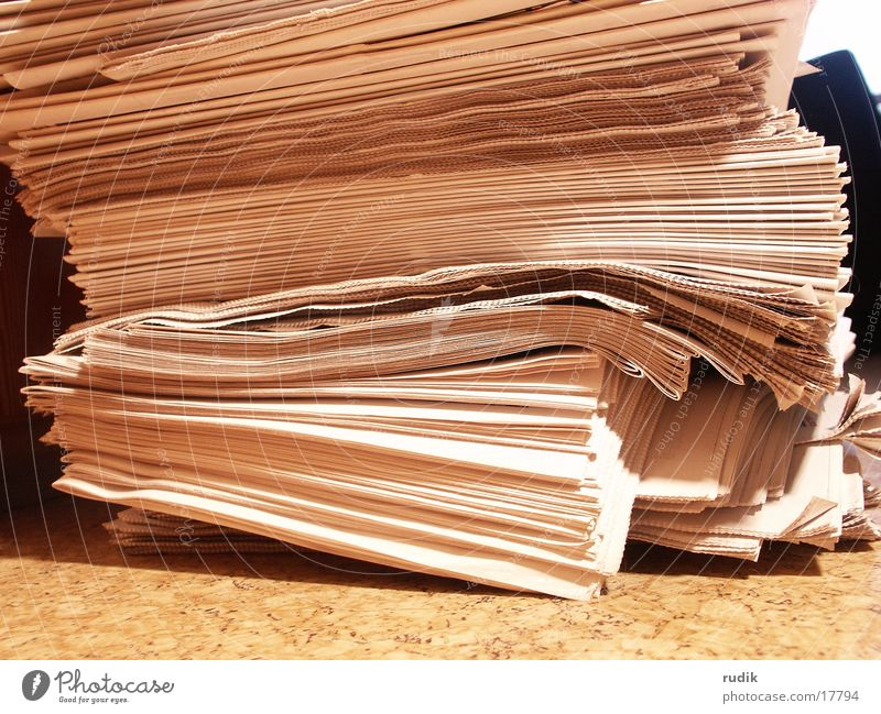 Reading Newspaper Media Magazine Stack Current Waste paper
