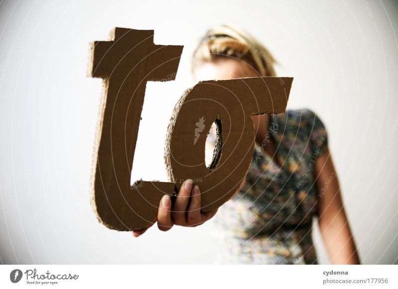 . do list Colour photo Interior shot Close-up Detail Neutral Background Day Light Shadow Contrast Deep depth of field Central perspective Long shot Upper body