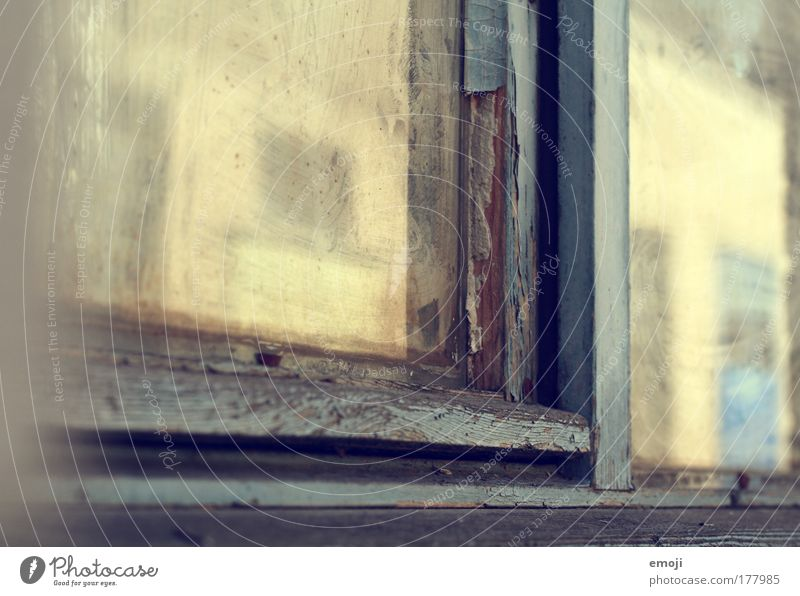 House (Residential Structure) Yellow Window Warmth Factory Window pane Industrial plant Old building