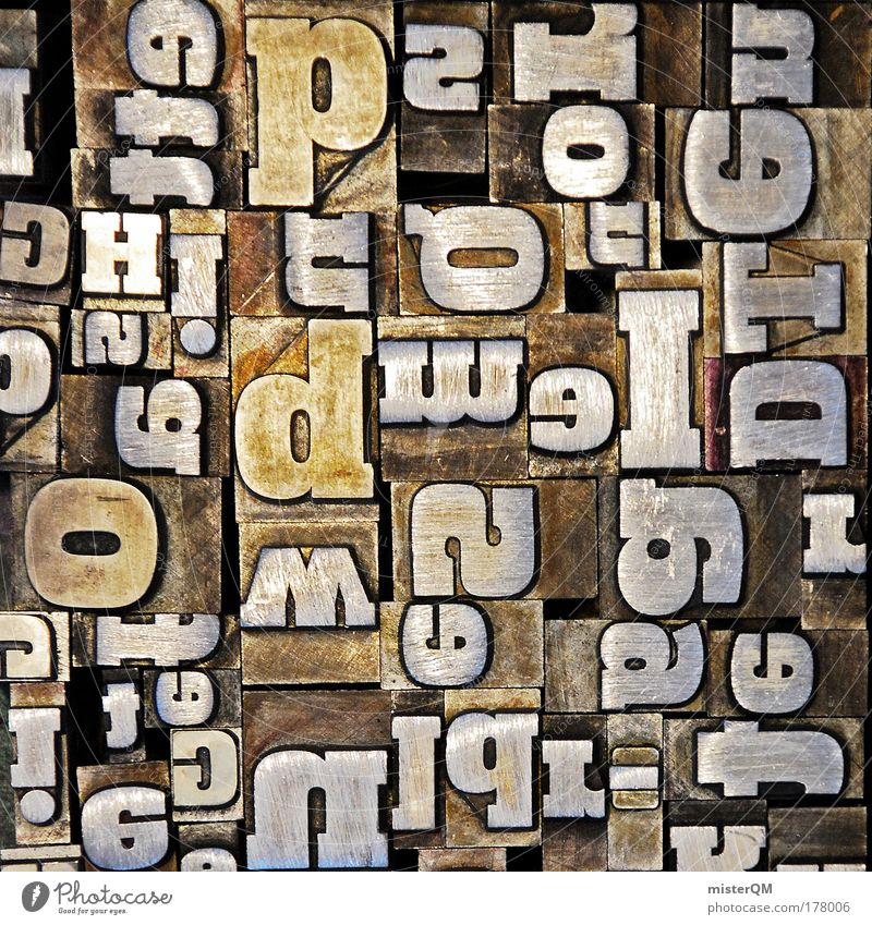 Pattern Think Art Inspiration Design Macro (Extreme close-up) Machinery Characters Letters (alphabet) Communicate Abstract Creativity Illustration Idea Sign Typography