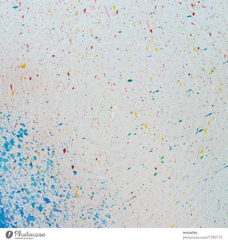 colorful splash Design Joy Happy Decoration Wallpaper Birthday Art Fashion Paper Hip & trendy New Retro Blue Multicoloured Yellow Pink Red White Esthetic Colour