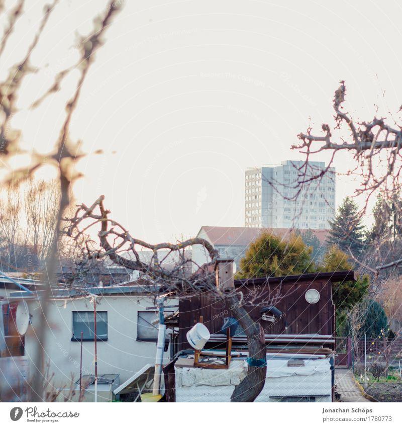 House (Residential Structure) Calm Winter Environment Autumn Garden Living or residing Contentment High-rise Idyll Hut Garden plot Home country Bleak Patient Block