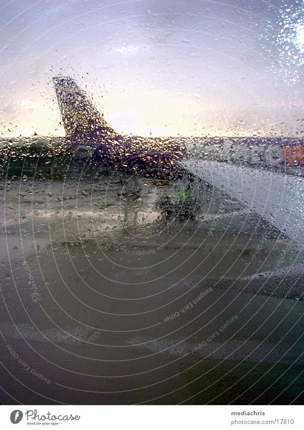 rain flight Airplane Flying Italy Europe Rain Aviation