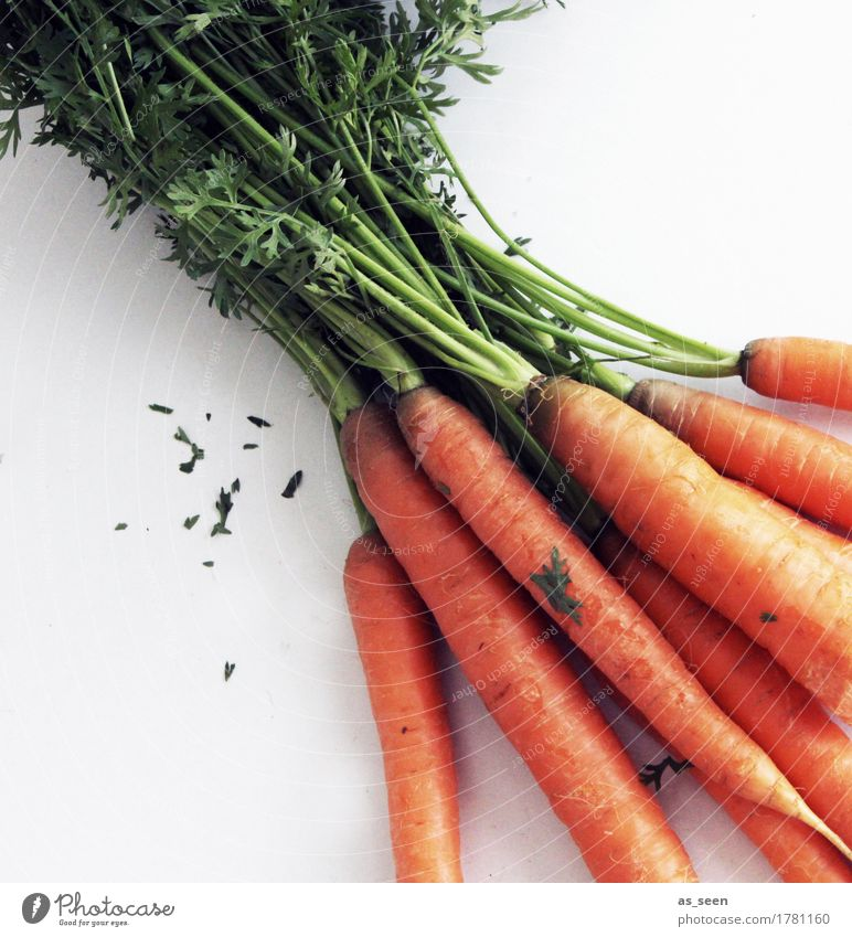 Fresh carrots Food Vegetable Carrot carrot league Root vegetable Nutrition Lunch Buffet Brunch Organic produce Vegetarian diet Diet Fasting Lifestyle Healthy