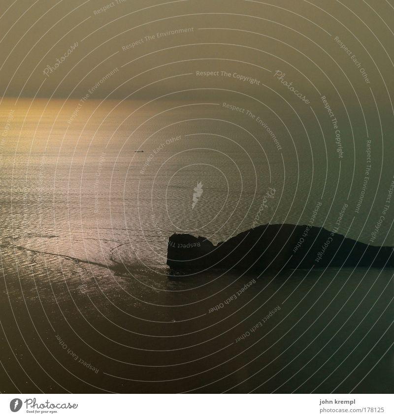 Beautiful Ocean Dark Sadness Brown Waves Coast Gold Horizon Hope Island Romance End Threat Longing Exceptional