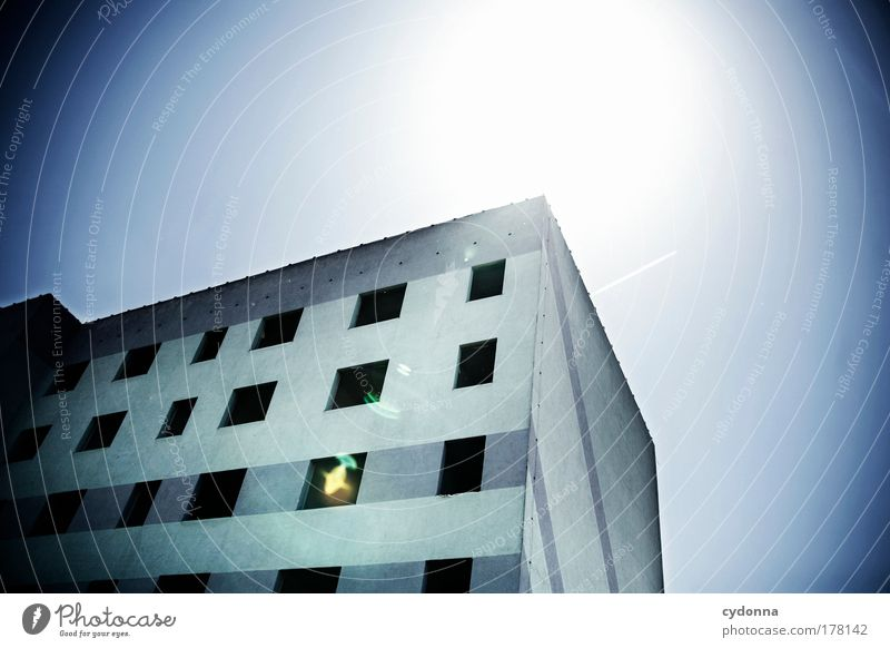 Sky House (Residential Structure) Loneliness Life Emotions Death Window Dream Sadness Architecture Germany Time Facade Perspective Change Education