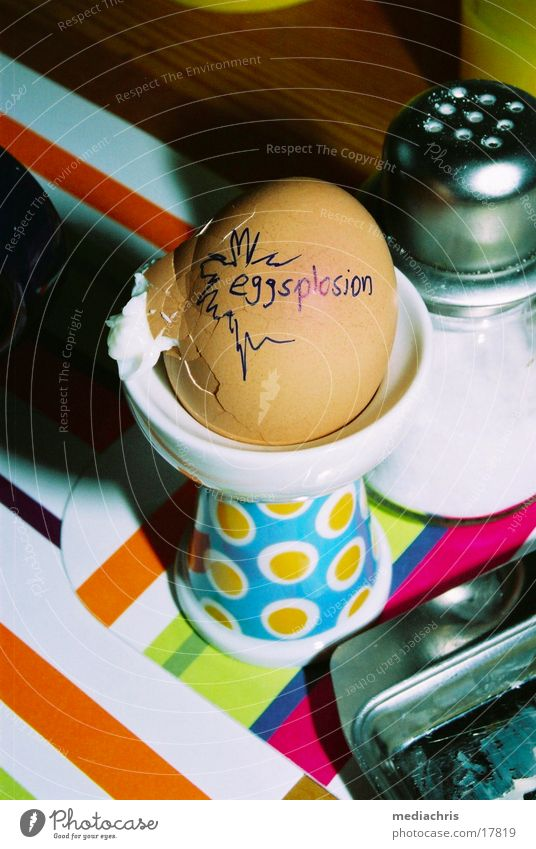 Nutrition Table Obscure Breakfast Egg Explosion Meal