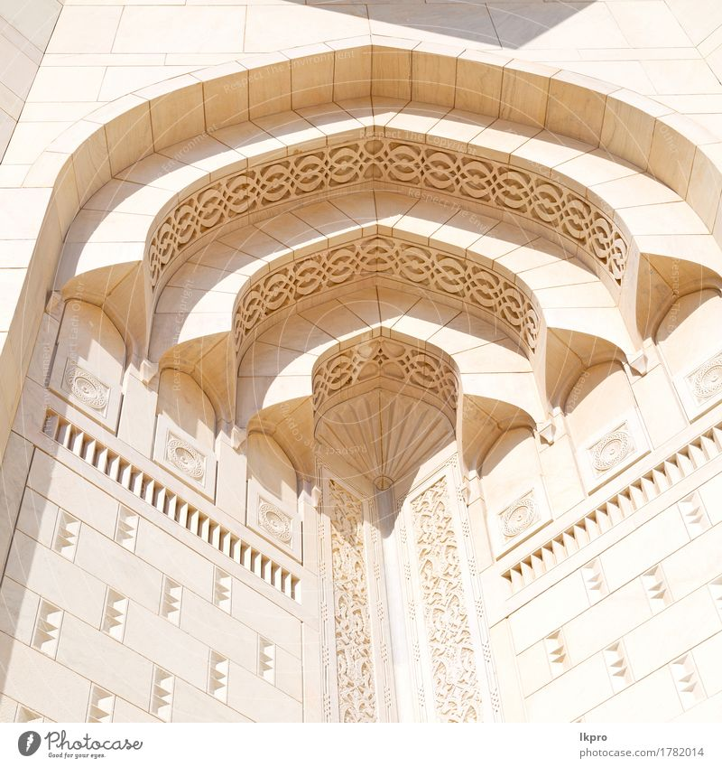 mosque abstract background and antique Vacation & Travel City Old White Black Architecture Religion and faith Style Building Art Stone Line Design Decoration Elegant Culture