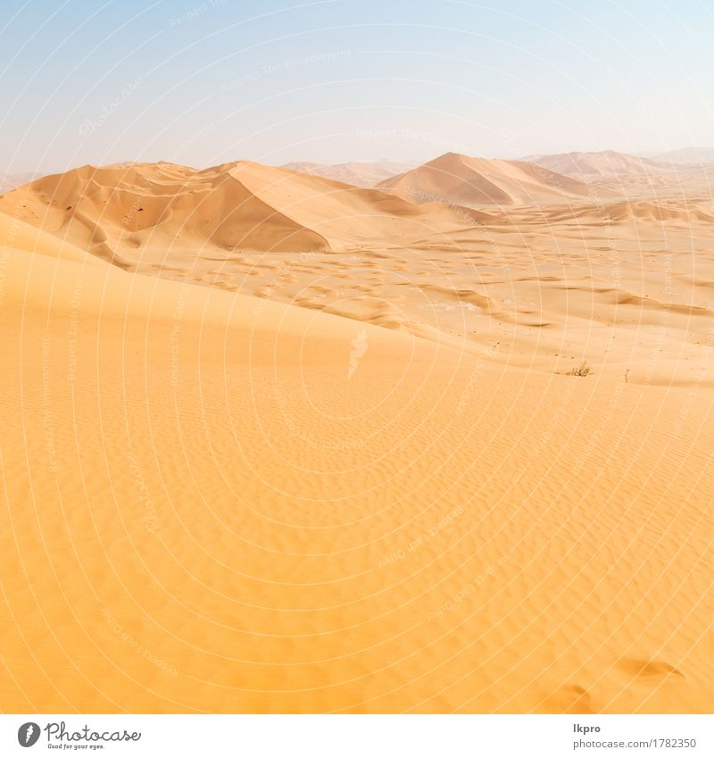 sand dune in oman old desert rub al khali Sky Nature Vacation & Travel Summer Beautiful White Sun Landscape Loneliness Black Yellow Gray Stone Sand Rock Tourism