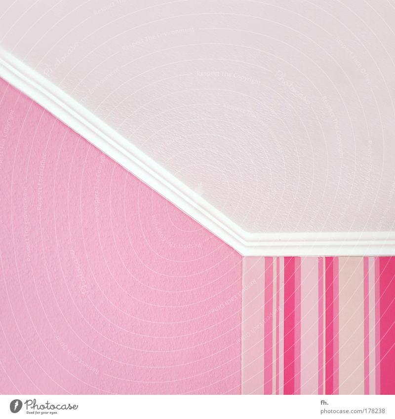 White Life Wall (building) Wall (barrier) Style Interior design Room Pink Elegant Wild Design Crazy Decoration Illuminate Retro Kitsch