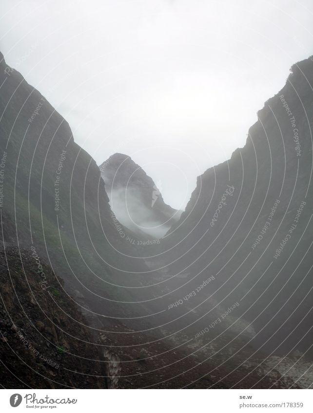 Nature Clouds Loneliness Sadness Rain Fog Dangerous Alps Longing Peak Elements Wanderlust