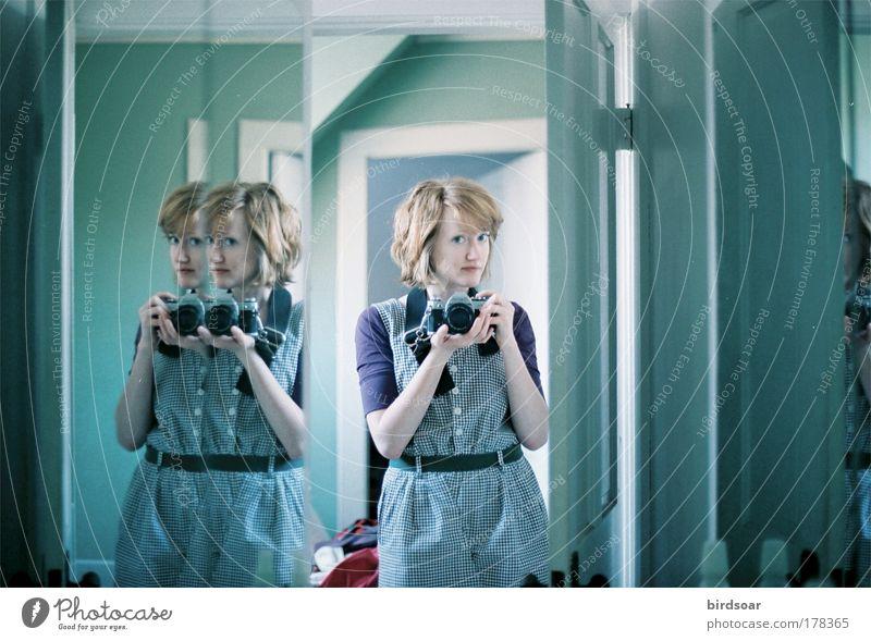 Time and Life Bathroom Mirror Film Self portrait Portrait photograph