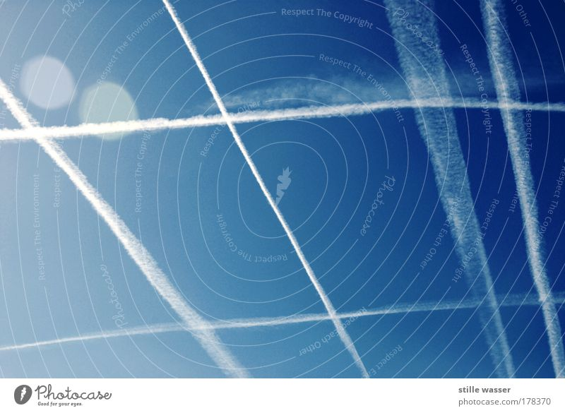 angle condensing Aerial photograph Reflection Sunlight Back-light Vacation & Travel Tourism Summer Summer vacation Energy crisis Aviation Stage Conductor