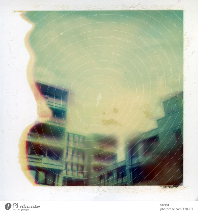 Blue Old White City Loneliness House (Residential Structure) Sadness Exceptional Dirty Polaroid Concrete Living or residing Future Gloomy Threat Creepy