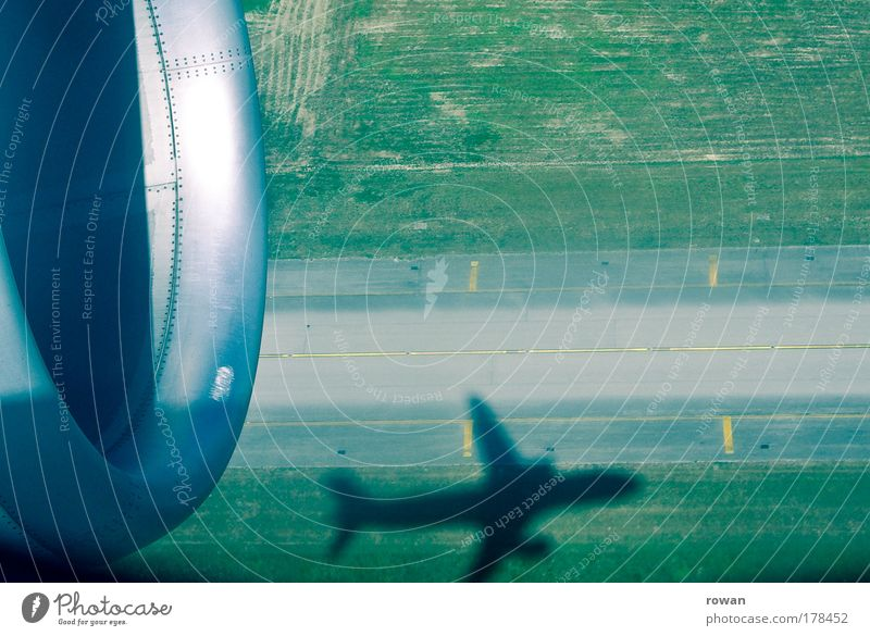 Vacation & Travel Freedom Airplane Flying Tall Aviation Airplane takeoff Airport Aircraft Airplane landing Jet Runway Airfield Passenger plane Vacation mood