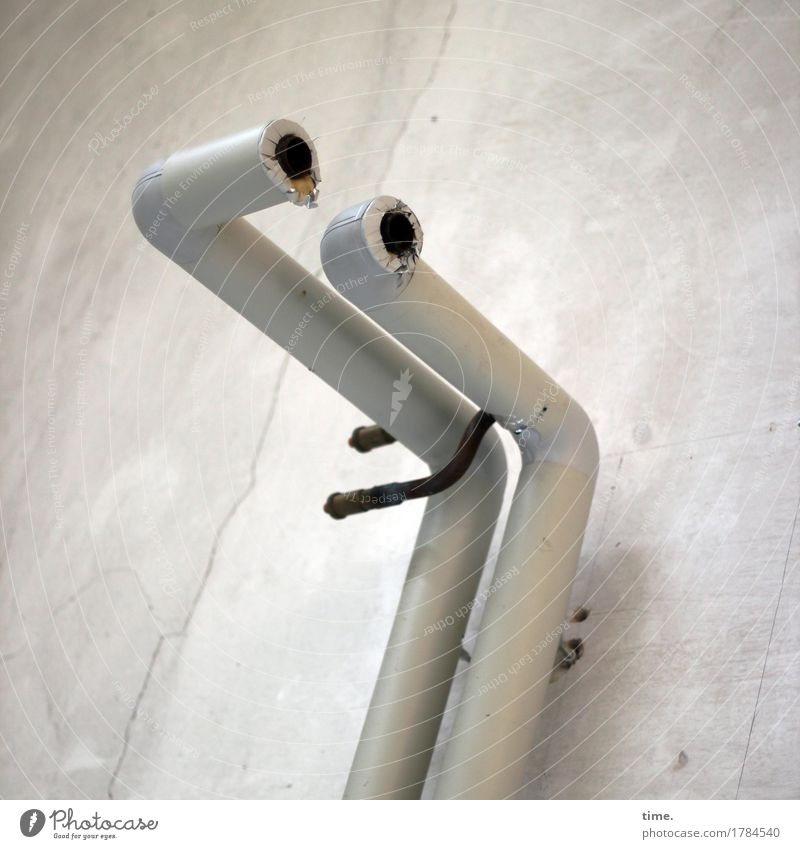 ambiguous | left the music plays Energy industry Iron-pipe Conduit Bracket Fastening Industrial plant Wall (barrier) Wall (building) Stone Steel Observe