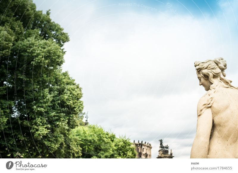 Woman Heaven Town Architecture Religion and faith Feminine Art Germany Culture Historic Past Symbols and metaphors Tourist Attraction Landmark Monument Statue