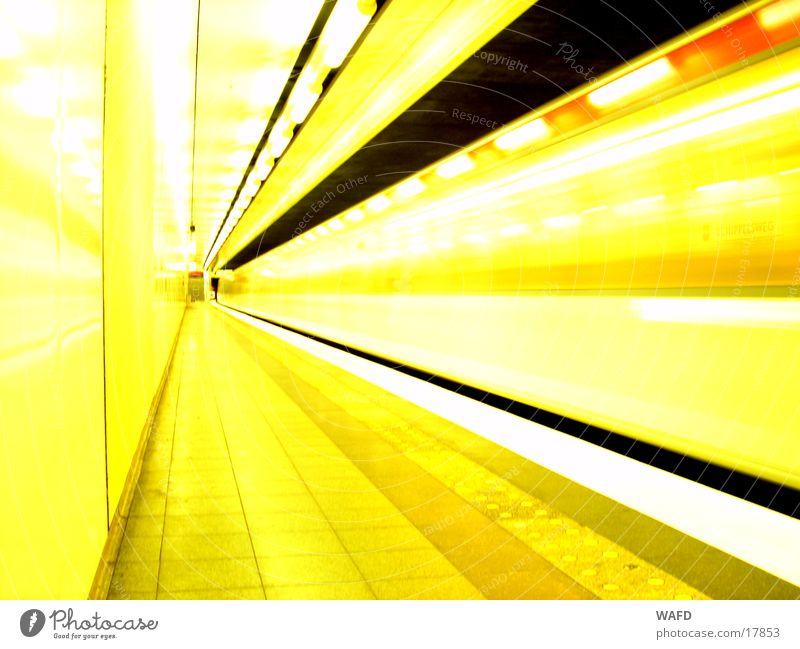 Transport Railroad Speed Station Tunnel Underground Platform Subsoil