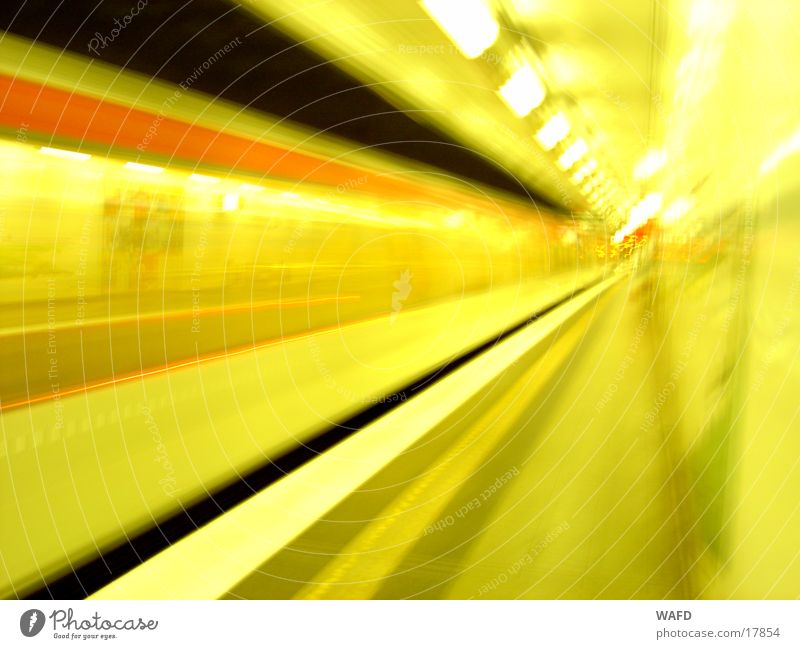 NightTrain Underground Station Light Speed Transport U2