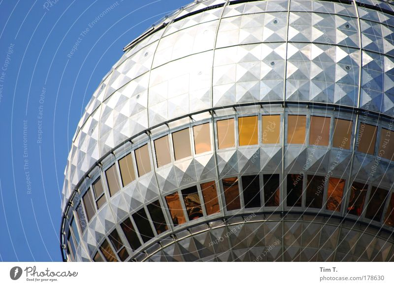 Vacation & Travel Skyline Landmark Capital city Tourist Attraction Berlin TV Tower
