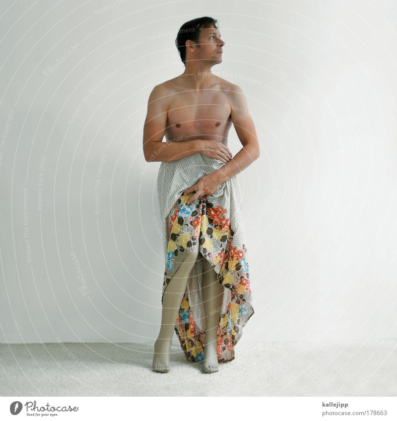 Man Hand Adults Feminine Life Sadness Legs Fashion Art Body Arm Masculine Skin Esthetic Clothing Skirt