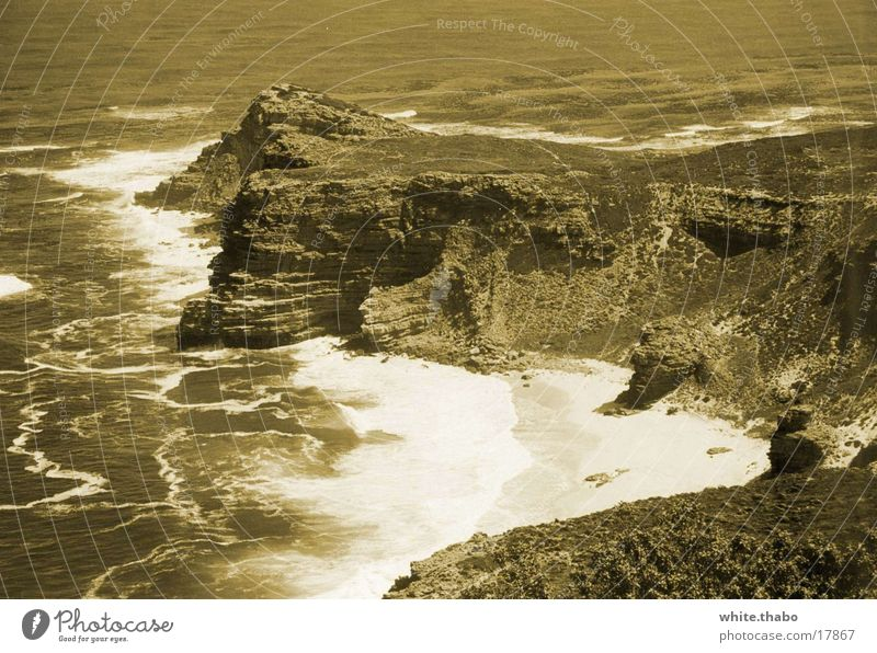 Ocean Africa Nostalgia Cape