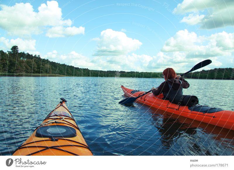 Human being Nature Vacation & Travel Water Landscape Joy Environment Sports Lake Leisure and hobbies Contentment Authentic Fresh Trip Joie de vivre (Vitality)