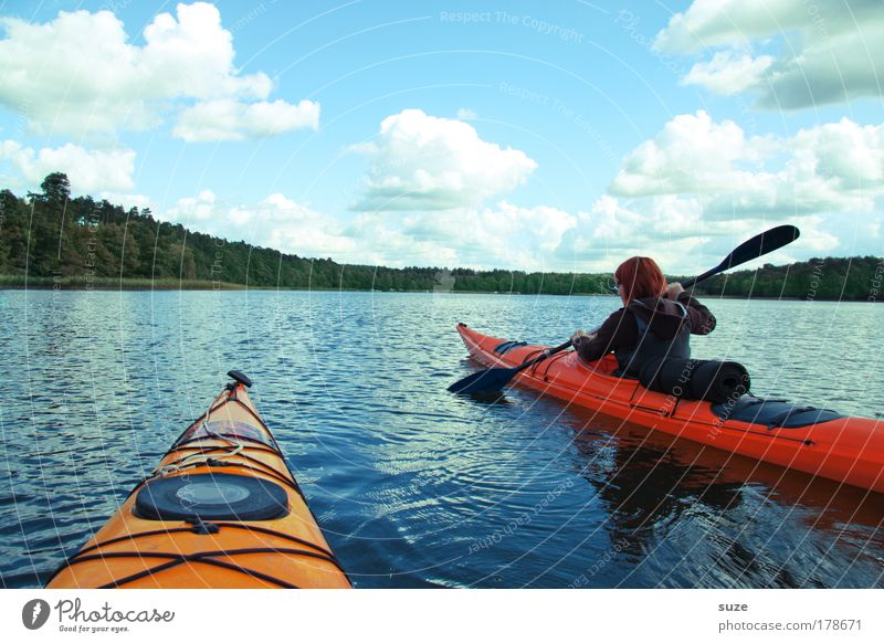 Human being Nature Vacation & Travel Water Landscape Joy Environment Sports Lake Leisure and hobbies Contentment Authentic Fresh Trip Joie de vivre (Vitality) Adventure