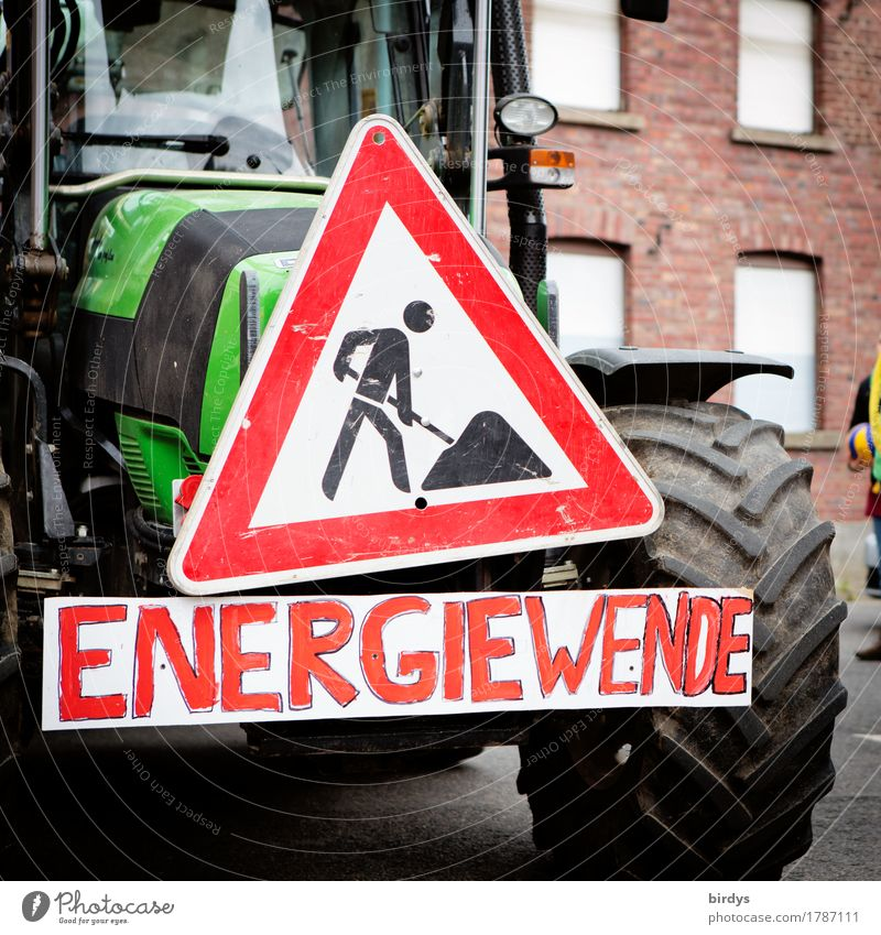how to drive with the handbrake applied Agriculture Forestry Energy industry Renewable energy Village Street Tractor Sign Characters Signage Warning sign