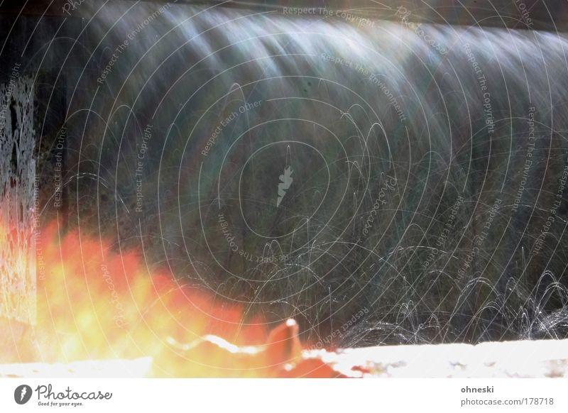 Water Joy Drops of water Fire Hot Well Fluid Illuminate Elements Waterfall Abstract Splash of water