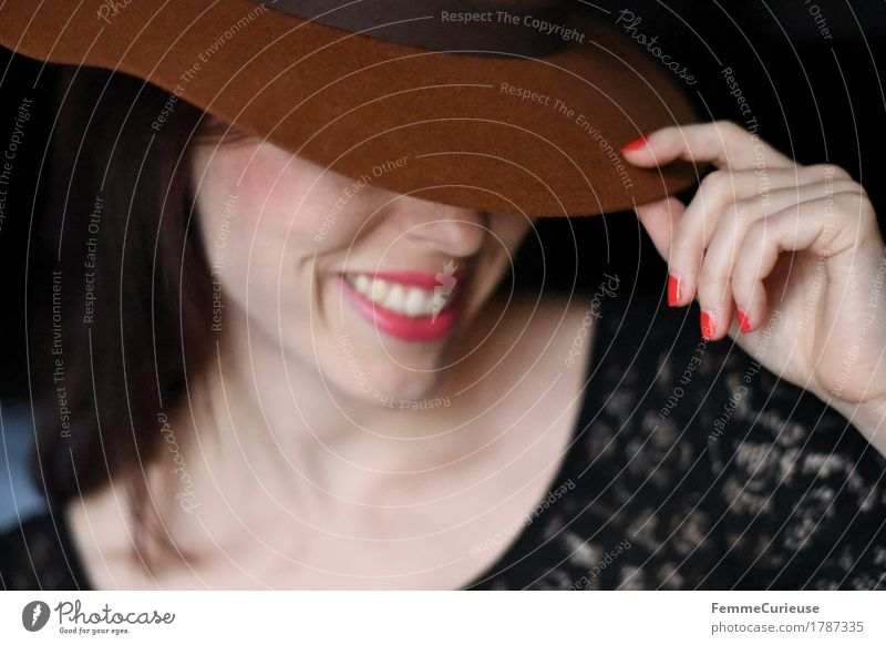 Elegance_1787335 Lifestyle Elegant Beautiful Young woman Youth (Young adults) Woman Adults Human being 13 - 18 years 18 - 30 years Feminine Fashion Hat Hipster