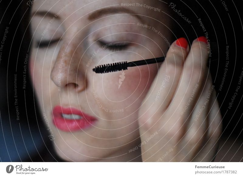 Human being Woman Youth (Young adults) Beautiful Young woman Hand 18 - 30 years Black Adults Feminine Decoration Fingers Lips Personal hygiene Cosmetics Make-up