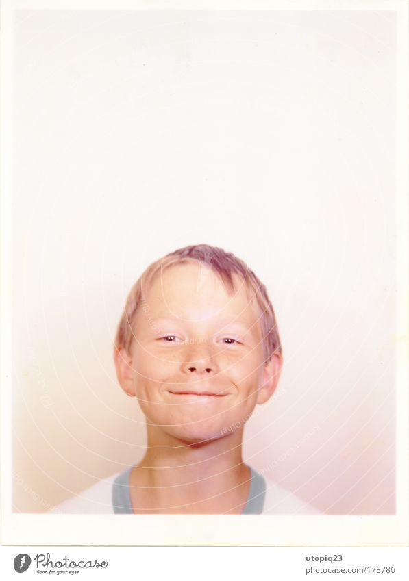 Human being Child Joy Face Boy (child) Head Small Funny Infancy Blonde Sit Masculine Happiness Stand Cool (slang) Cute
