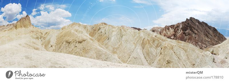 Golden Canyon. Colour photo Exterior shot Pattern Structures and shapes Deserted Copy Space left Copy Space right Copy Space top Neutral Background Day Light