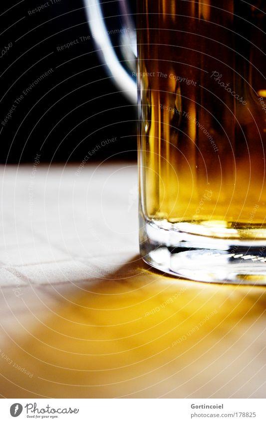 beer Beverage Alcoholic drinks Beer Beer mug Glass Oktoberfest To enjoy Hop malt Beer glass Full Carry handle Interior shot Deserted Shaft of light Flare