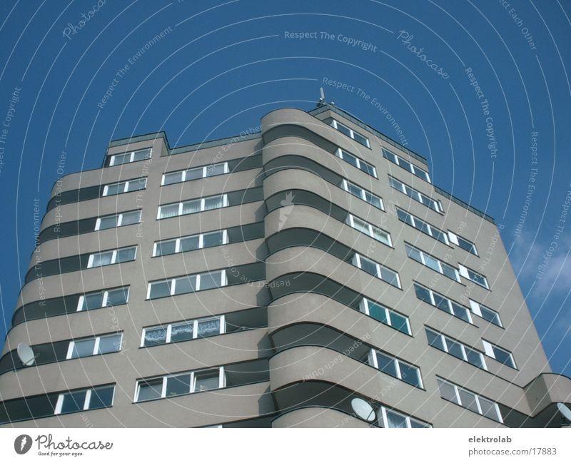 Blue Berlin Architecture Concrete High-rise Round Kreuzberg
